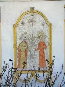 Darstellung der Heiligen Dreifaltigkeit und der Heiligen Familie