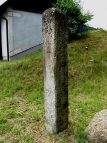 Steinerne Wegsäule
