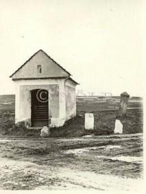 Falltorsäule (Bild Landesbibliothek Niederösterreich 1937)
