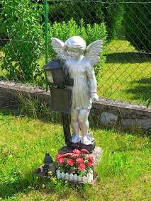 Eisenkreuz mit Engel