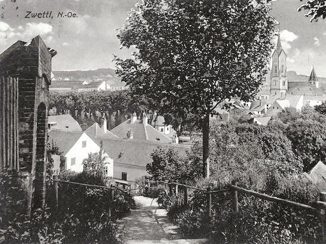 Kreuzweg um 1912