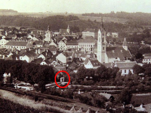 Zwettl um 1880