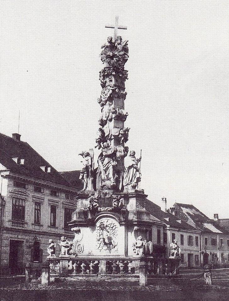 Dreifaltigkeitssäule 1880