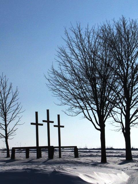 Die drei Kreuze