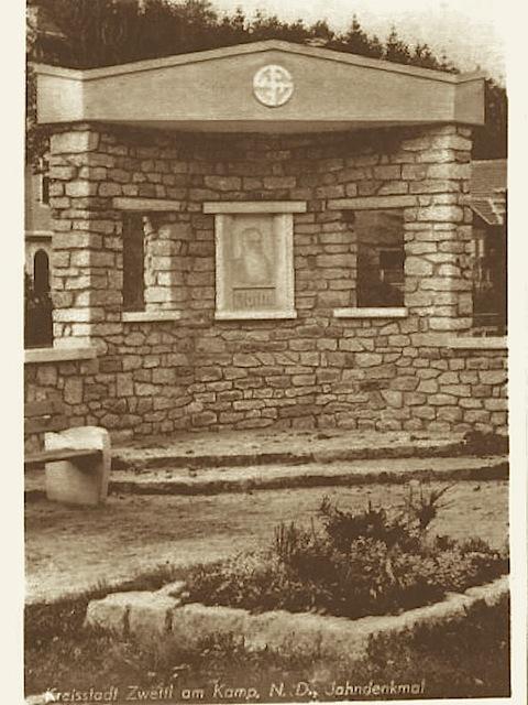 Jahn Denkmal vor 1949