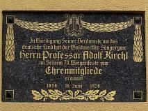 Adolf Kirchl Gedenktafel