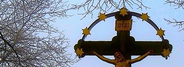 Hochkreuz südlich von Kirchberg an der Wild