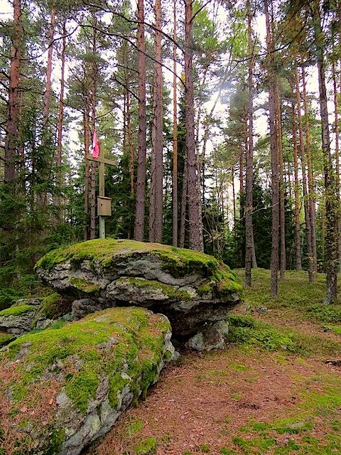 Gipfelkreuz Hochberg