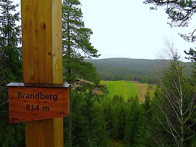Gipfelkreuz Brandberg