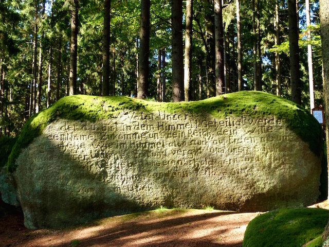 Vaterunser Stein